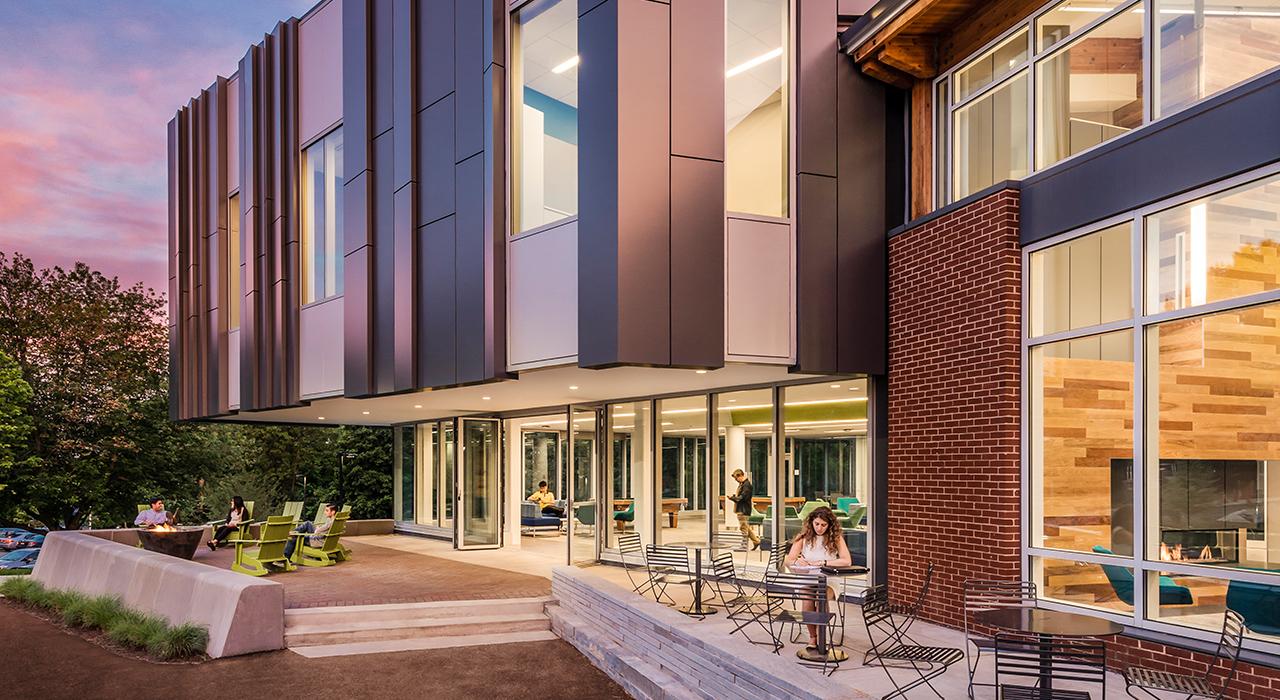 Bentley University, Student Center Construction