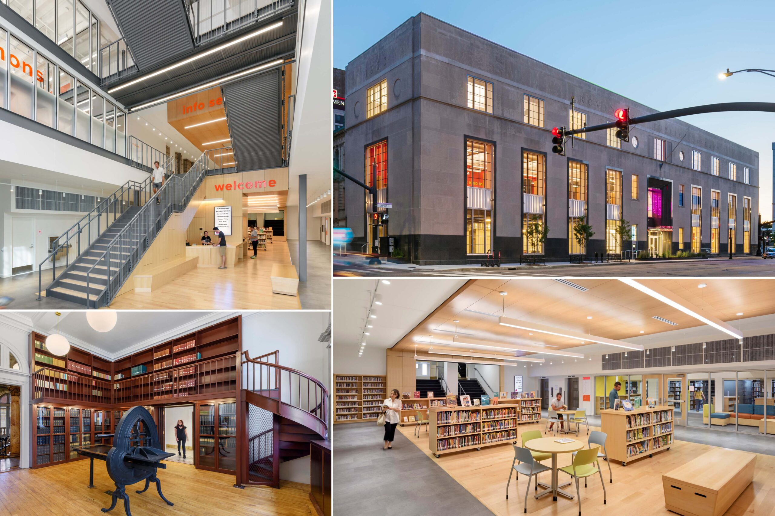 Providence Public Library, 21st Century Library, BOND Building