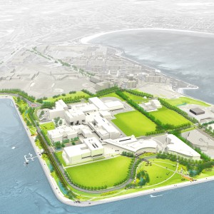UMass Boston, Utility Corridor and Roadway Relocation